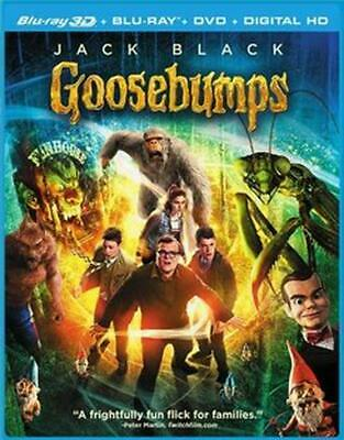 Goosebumps - BLU-RAY 3D Region 1 Free Shipping!