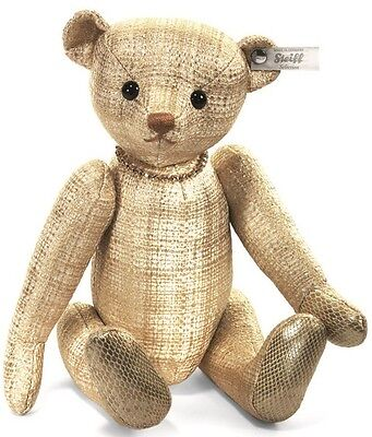 Steiff Selection Aurelius Paradise Jointed Gold Fabric Teddy Bear Limited 034879