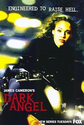 DARK ANGEL TV MOVIE POSTER 1 Sided ORIGINAL Version B 27x40 JESSICA ALBA