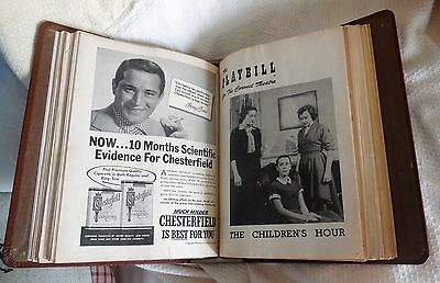 Vintage PLAYBILLS - mid 1950'S in Binder and Loose  NYC