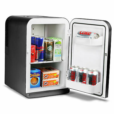 ChillMate 15 Litre Thermoelectric Mini Fridge Cooler/Warmer Black - A++ Energy