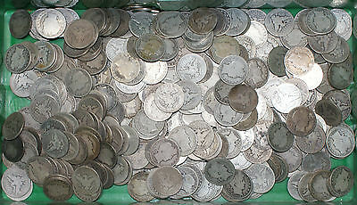 (1) 1892-1915 Barber 90% Silver Half Dollar 50c Coin Circulated from Mixed Lot