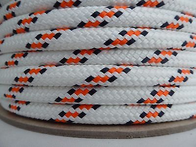"3/8"" x 600 ft. Double Braid~Yacht Braid polyester rope.Sailboat Line. US"