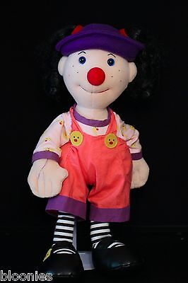 """Big Comfy Couch 18"""" Loonette Plush Toy Doll 1995"""