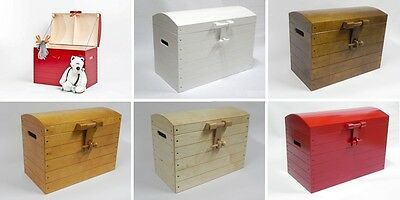 Wooden Trunk Chest Storage Box Bed Furniture Wood Ottoman Basket XXL six colors