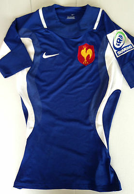 Maillot Rugby Nike Equipe De France Saison 2003-04