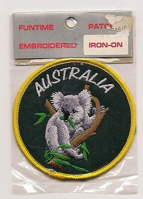 Embroidered Souvenir Patch - Country Of Australia - Koala