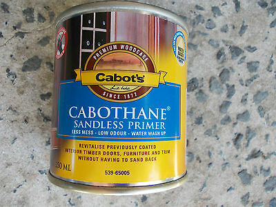 "CABOTS ""Cabothane"" SANDLESS PRIMER  250ml cans x 24  BULK LOT water based"