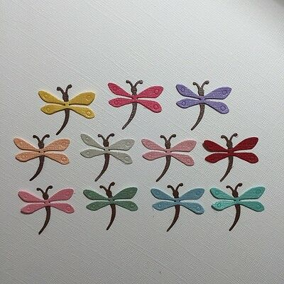 22 Dragonfly Die Cuts  ~ Embellishment Scrapbooking ~ Dragonfly Insects Bug