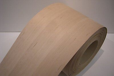 Real wood Veneer Alder with Hot melt adhesive iron-on 30 cm Wide