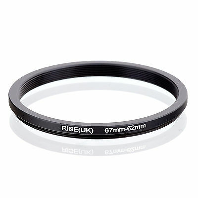RISE (UK) 67-62MM 67MM-62MM 67 to 62 Step Down Ring Filter Adapter