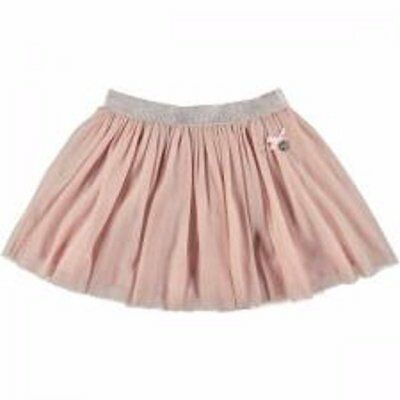 S&D Le Chic girls pale pink shimmer skirt age 9/10 years