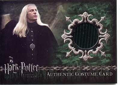 Artbox Harry Potter And The Goblet Of Fire Lucius Malfoy's Costume Material C1