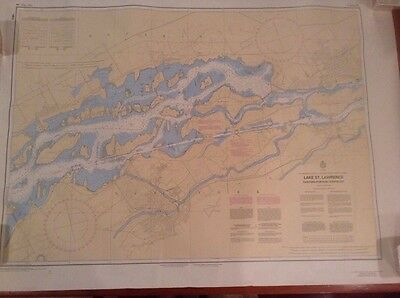 ST. Lawrence Seaway / Lake St. Lawrence / Eastern Portion / Navigational Map