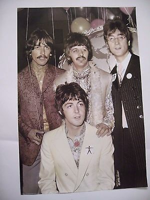 Beatles 1967- Photo Hulton  Authentic 1992 Poster