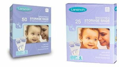 Lansinoh Breast Milk Storage Bags - 25 or 50