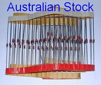 Pack of 100 off 1N4148 Diodes Australian Stock