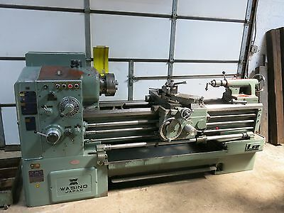 "Wasino 20x50"" Lathe with Aloris Toolpost & Tooling"