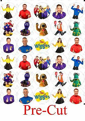 30 The Wiggles New Generation Edible Cupcake Toppers Image PRE CUT