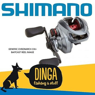 Shimano Chronarch 150 CI4+ Baitcast Fishing Reel
