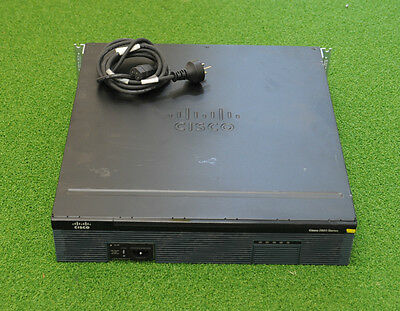 CISCO C2921-VSEC/K9 Router w/ PVDM3-64 and Securityk9 & Uck9 Licensed - 1 YR WTY