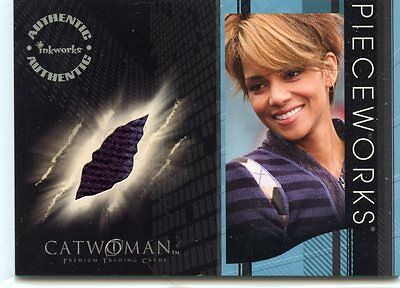 2004 Inkworks Catwoman Halle Berry Worn Sweater Pw-4