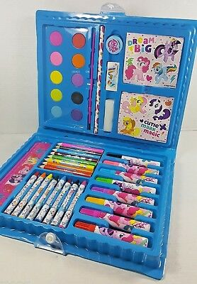 My Little Pony Jumbo Art Colouring Book and Painting Pack Pencils Paint Kids