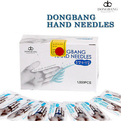 Dong Bang Acupuncture Chinese Medical Hand Needles 0.18x8mm (10box) 10000pcs