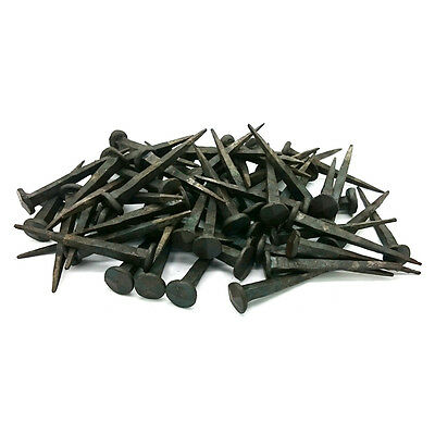 Hand Forged Iron Nails 65mm x 70 pieces Rose Head Nails Wrought Iron Nails