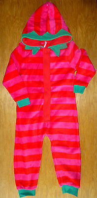 Bnwt Girls Next Xmas Elf All-In-One Onesie 4-5 Years