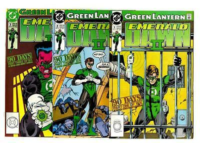 Green Lantern: Emerald Dawn II #1-6 (1991) DC VF/VF-