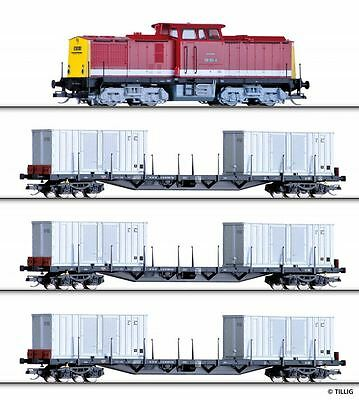 Tillig Einmalset BR108 with Freight train, Model track, DR Ep.IV 01439