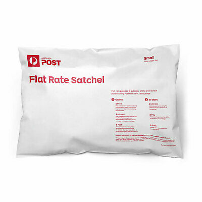 Australia Post Flat Rate Satchel 500g (50 bag pk) - excludes postage