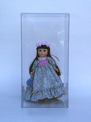 """16/"""" Doll Action Figure Display Case 9.5/"""" x 5/"""" x 17/"""" 1 DollSafe Deluxe 15/"""""""