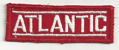 1940's Atlantic Gasoline Uniform Patch