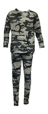Girls Camouflage Lounge Suit 2-13 years