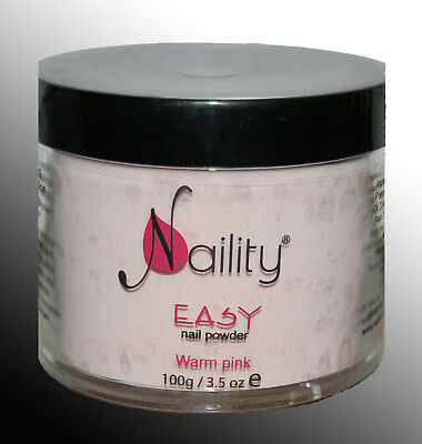 poudre acrylique Naility EASY warm pink  400g