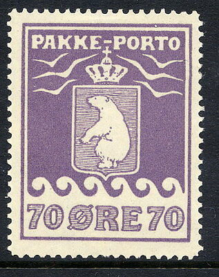 GREENLAND 1930 Parcel Post 70 Øre perforated 11½ LHM / *