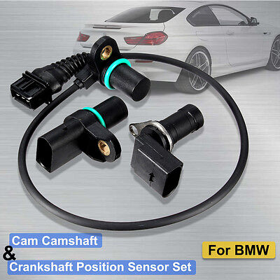 Intake Exhaust CAMSHAFT POSITION SENSOR for BMW 12147539165 CAM SHAFT CRANKSHAFT