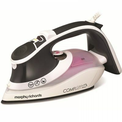 Morphy Richards 2600W Electric Comfigrip Steam Iron Ionic Soleplate 301021