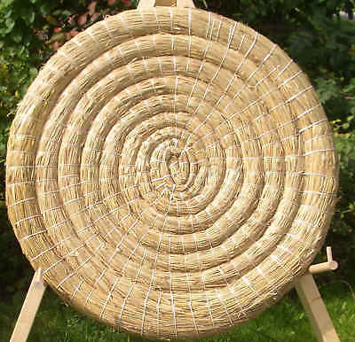 1 Target HAY Target Cible 80-8cm Archery Target panel Archery straw disc bowhunt