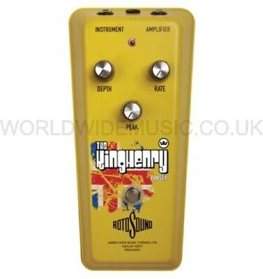 Rotosound RKH1 The King Henry Phaser Electric Guitar Effects FX Pedal