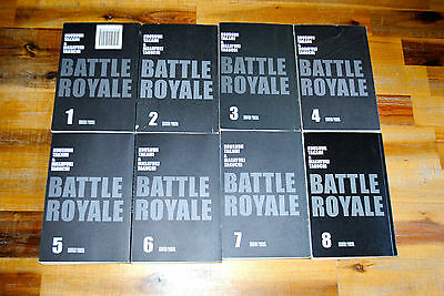 Lot 8 Mangas BATTLE ROYAL Ed. SOLEIL Version FR Tome 1 à 8