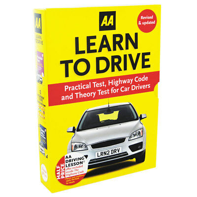 AA Learn To Drive - Practical Test Highway Code And Theory Test, Books, New