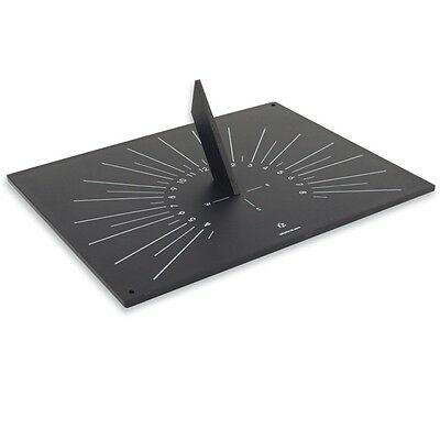 "Sundial ""Slate ""Effect, Beautifully Crafted from Recycled Materials, Outdoor Use"