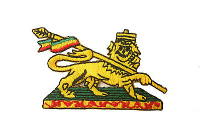 Ethiopia Lion Of Judah Embroidered Iron-On Patch Crest Badge
