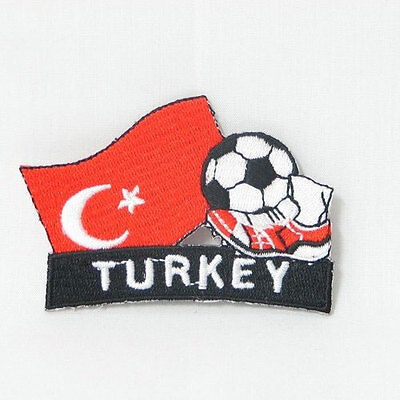 Collectible TURKEY Flag Sewing Patch