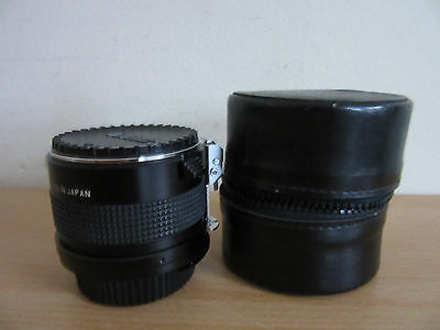 Vintage Vivitar MC 75-205mm 2x Matched Multiplier w/ Case