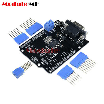 SPI MCP2515 EF02037 CAN BUS Shield Controller communication speed high Arduino