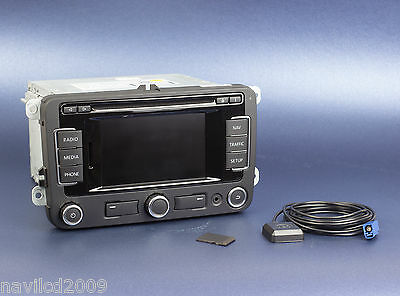 VW RNS310 GPS navigation system with latest V9 MAPS Sat Nav GPS RNS 310 RNS510